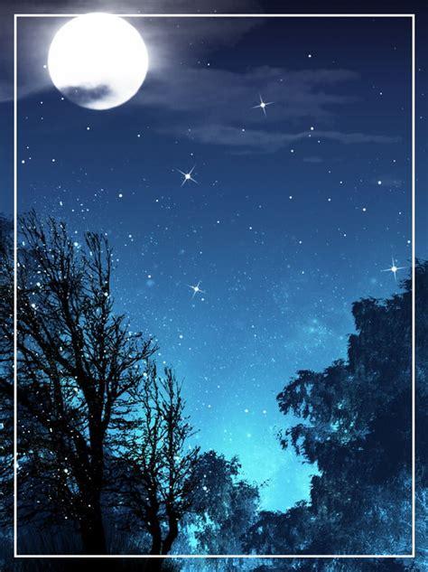 star night sky background woods night star stars