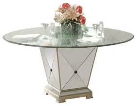 Floor Decor Tempe Borghese Round Pedestal Glass Top Dining Table Dining