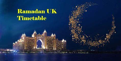 ramadan fasting times 2018 ramadan 2018 uk timetables manchester