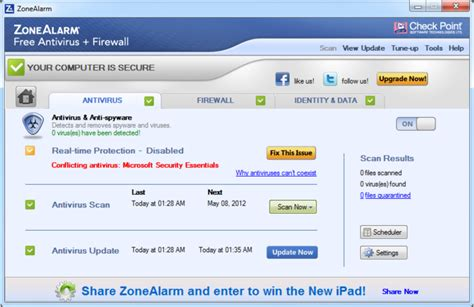 free downloads zonealarm free antivirus firewall
