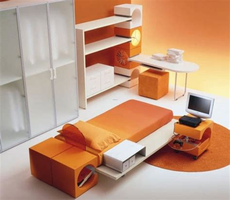 asian modern furniture japanese style modern bedroom furniture set in orange color design bookmark 14355