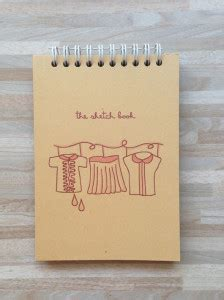 harga sketchbook kosong buku diary notebook peekmybook organizer design unik