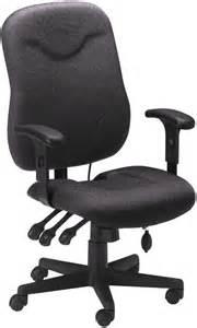 Desk Chair Tailbone Mayline Ergonomic Task Chair With Tailbone Cut Out 9414ag