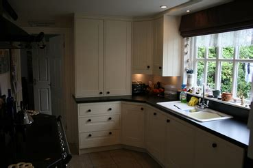 Handmade Kitchens Essex - just fitted kitchens painted handmade kitchen in maldon