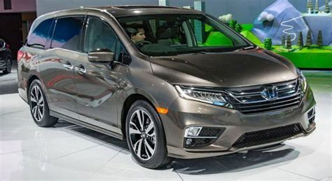 Honda Models 2020 by 2020 Honda Odyssey Review Price Specs Redesign New