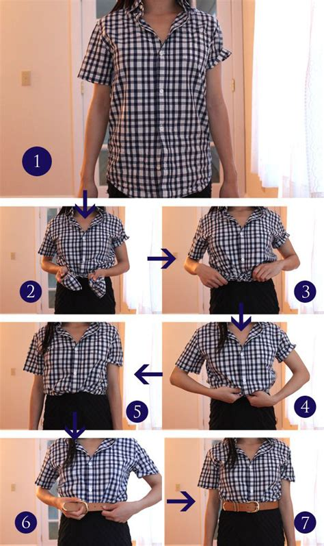 Pashmina Cutting 6 20 style tips on how to tuck roll and cuff your shirts