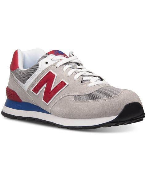 Sepatu Newbalance 574 Casual Black 6 new balance s 574 casual sneakers from finish line in