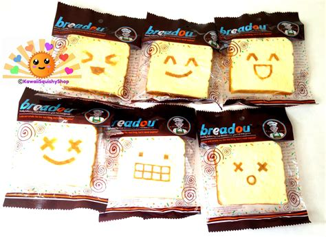 squishy breadou 174 roti toast bread accessories keychain so