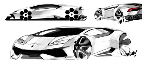 lamborghini huracan sketch the bugatti chiron could looked like this autoevolution