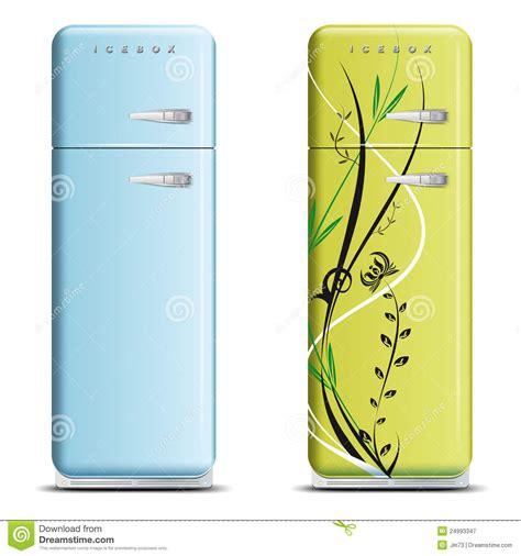 Freezer Ukuran Sedang retro refrigerator foto gambar wallpaper