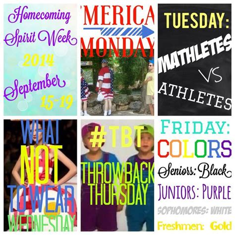 themes for college homecoming 8 best spirit week images on pinterest student council