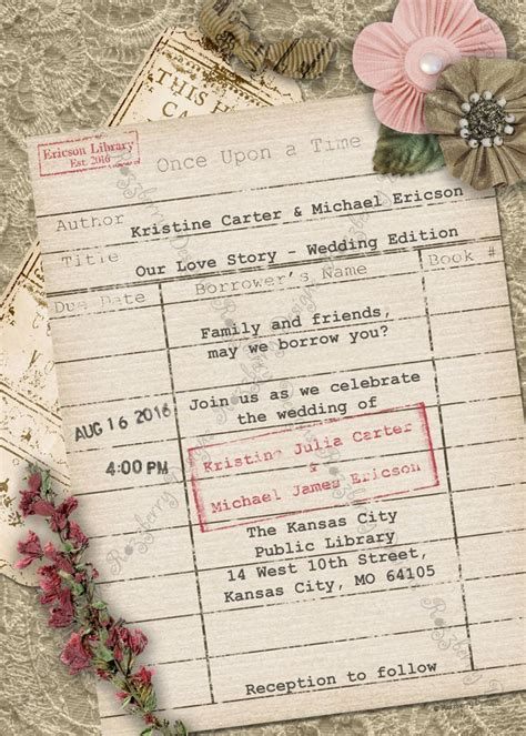 library themed wedding invitations 25 best ideas about wedding card design on wedding invitation invitation and