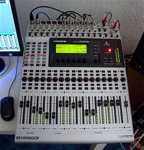 Mixer Digital Behringer Ddx3216 behringer ddx3216 image 330420 audiofanzine