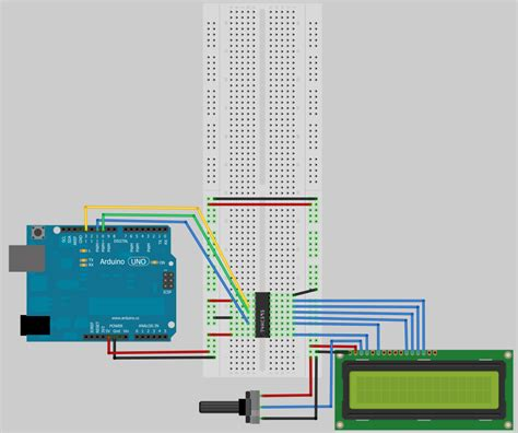 arduino code with lcd arduino playground liquidcrystal library