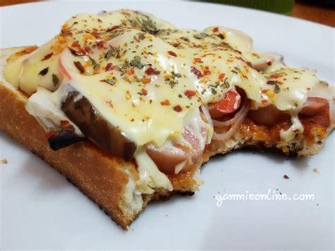 cara membuat pizza roti gardenia resepi pizza roti gardenia mudah dan sedap yanmieonline com