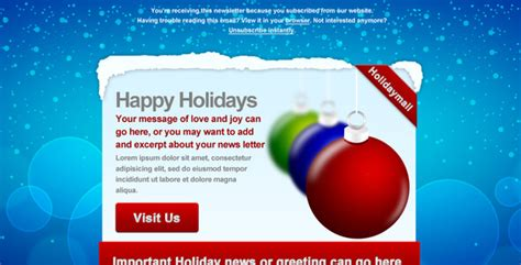 christmas themes outlook email best christmas newsletter email templates blogger tips