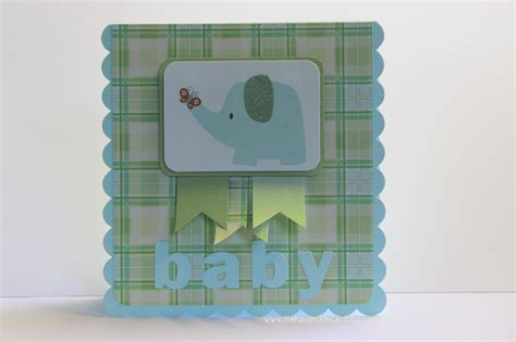 Handmade Blogs - handmade baby card the handmade card