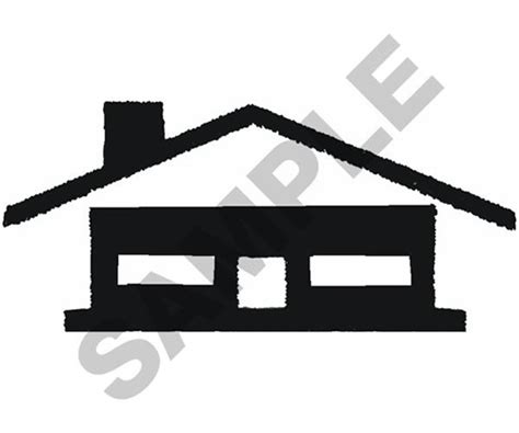 house embroidery design house outline embroidery design house decor
