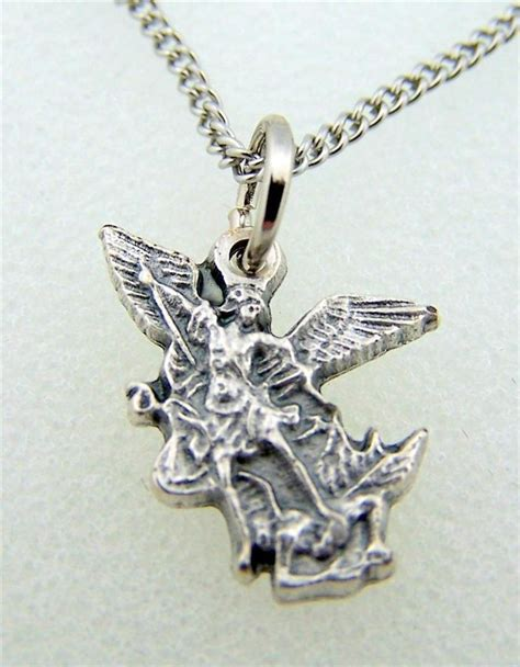 pendant with 6 gorgeous archangel michael