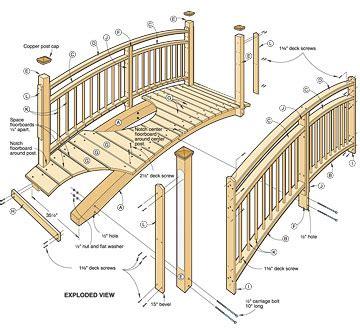 small bridge plans woodwork wooden garden bridge plans pdf plans