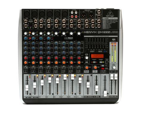 Sale Mixer Behringer Xenyx Qx 1222 Usb 12 Channel behringer xenyx qx1222usb 12 input mixer w fx usb pa