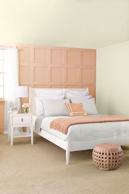 peach and gray bedroom peach gray transitional bedroom by lowe s home