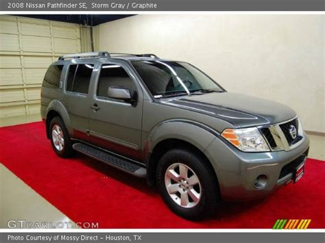 grey nissan pathfinder gray 2008 nissan pathfinder se graphite interior