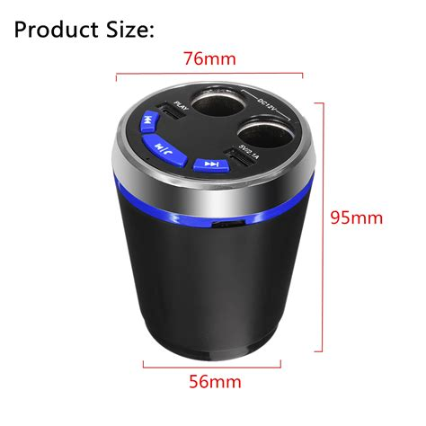 Mosa Charger Playcups car bluetooth cup charger car kit 2 port usb mp3 player alex nld