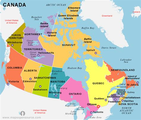 canadian map of provinces and territories citizenship test study help canada