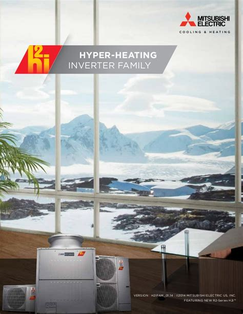 unique indoor comfort h2i residential cooling and heating system carried by