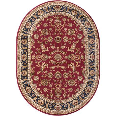 tayse rugs sensation green 6 ft 7 in x 9 ft 6 in tayse rugs sensation red 6 ft 7 in x 9 ft 6 in oval