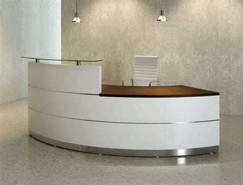 how to make reception desk how to make curved reception desk american hwy