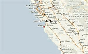 california map monterey monterey location guide