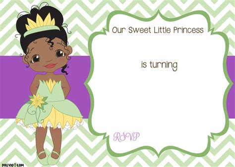 princess and the frog invitations printable free printable princess birthday invitation template free invitation templates drevio