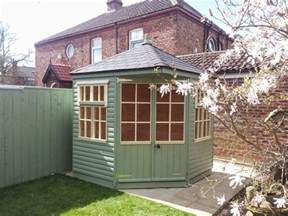 Corner Garden Summer House - corner summerhouses apex timber buildings