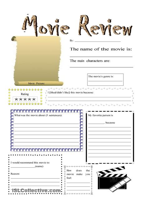 documentary review template review clases and