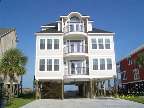 myrtle beach house rentals with pool oceanfront pin by morgan mitchell on myrtle beach vacation houses pinterest