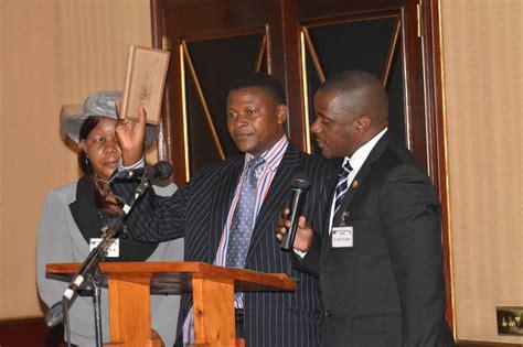 kumpalume ndau sworn in as new cabinet ministers