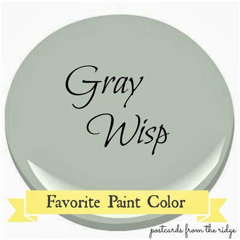 benjamin gray wisp favorite paint color benjamin