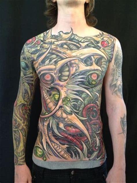 biomechanical tattoo san jose ron earhart analog tattoo arts kolectiv san jose ca