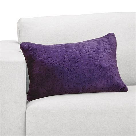 nap quilted pillow by brookstone 24 99 products i