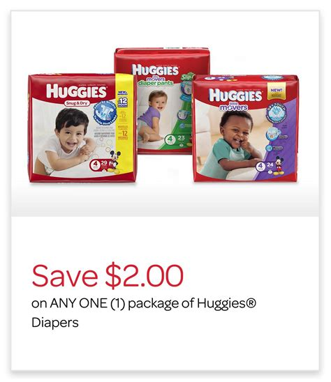 printable huggies coupons canada huggies canada coupons save 2 on any huggies diapers