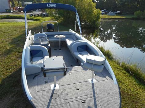 lowe deck boats for sale used lowe sd224 sport deck 2015 for sale for 37 995 boats