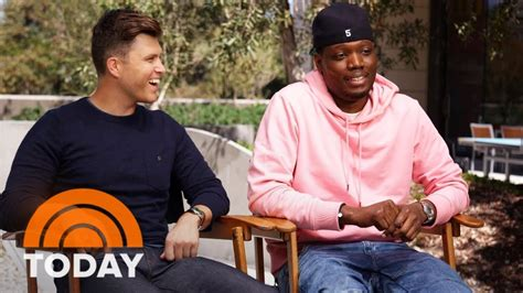 michael che emmys youtube snl hosts colin jost and michael che offer emmy awards