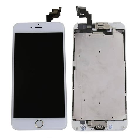 Lcd Digitizer Iphone 6 Apple Iphone 6 Plus Lcd Screen And Digitizer Assembly With Frame And Home Button