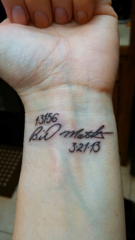 tattoo font signature signature tribute tattoo tatted up pinterest