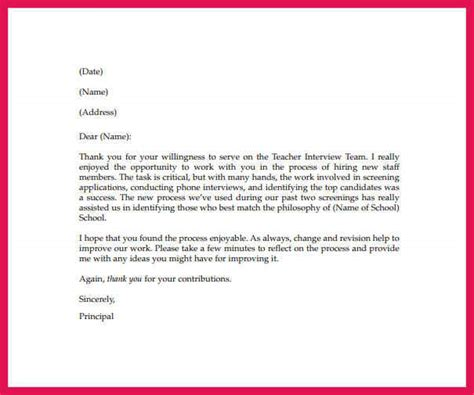 appreciation letter for instructor appreciation letter sop exles