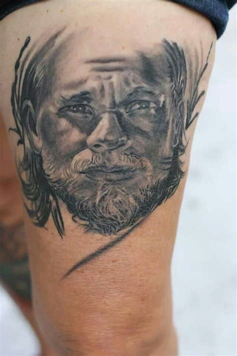 portrait i did of jax sons of anarchy tattoos pinterest