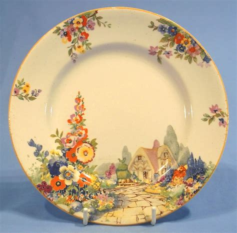 cottage china country plates 1920s 1930s search vintage china plates dessert plates