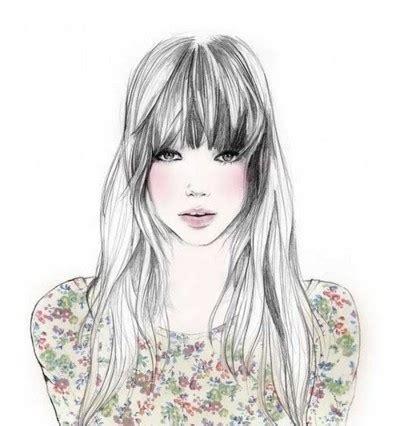 tumblr girl hair drawing illustration girl 3 seriusan ngga penting tapi kalian